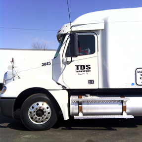 Picture of one of our trucks